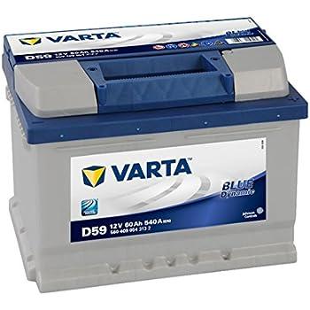 STARTERBATTERIE VARTA BLUE DYNAMIC 60-AH 12-V 540-A 31561025