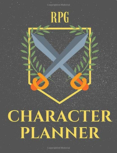 RPG character creator journal: Create characters step by step for your fantasy adventures