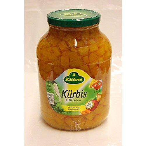 Kühne Kürbis in Stückchen mit Honig verfeinert 2650ml Glas