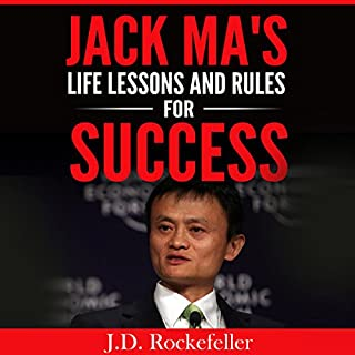 Jack Ma's Life Lessons and Rules for Success audiobook cover art