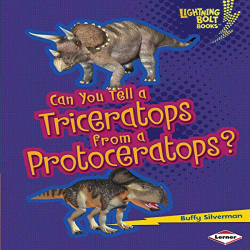 『Can You Tell a Triceratops from a Protoceratops?』のカバーアート