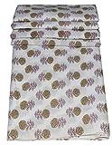 Majisacraft Stoff, indisch, handgefertigt, 100% reine