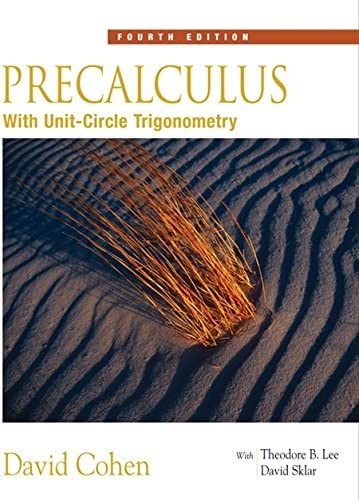 Precalculus With Unit Circle Trigonometry with Interactive Video Skillbuilder CD ROM Available product image