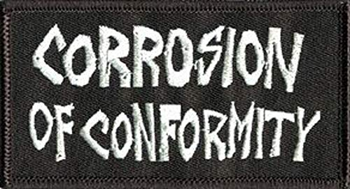 Corrosion of Conformity - Logo, Officially Licensed Artwork, Iron-On/Sew-On, Embroidered PATCH PARCHE
