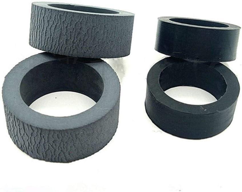 JRUIAN Printer Accessories 1Set X Scanner Pickup Roller Kit Fit for Panasonic KV-S1046C KV-S1065C KV-S1026C K-1046C 1065C 1026C 1046 1065 1026 Scanner Parts