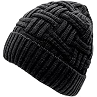 Loritta Winter Knit Beanie Hat (4 style options)