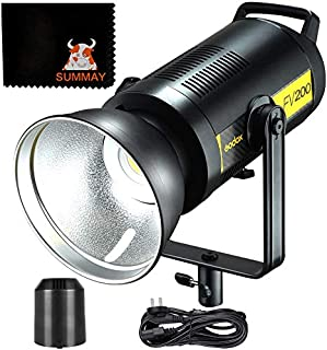 كشاف LED تردد 2.4 جيجاهرتز اضاءة 5600 كلفن، 1/8000s اتش اس اس لاسلكي ونظام اكس، ومقياس التجسيد اللوني +96 وتي سي ال اي +96...