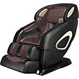 "YITAHOME Massage Chair Full Body Zero Gravity Recliner 145CM/57.08"" SL Track 3D Robots Hands Waist Heater Luxurious Crocodile Pattern with Wireless Bluetooth Speaker"