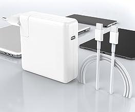 Cargador Mac Book Pro USB C, Cargador Mac Book Air USB C Compatible con Mac Book Pro 16, 15, 13 Pulgadas, el Nuevo Mac Air...