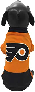 All Star Dogs NHL Philadelphia Flyers Athletic Mesh Dog Jersey, Medium, Orange