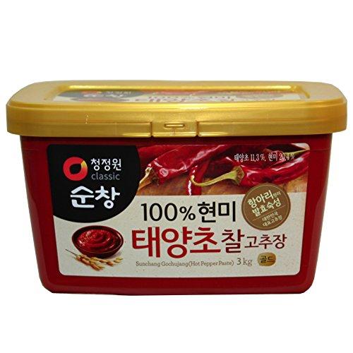 チョンジョンウォン・スンチャンコチュジャン 3kg■韓国食品■韓国調味料■清静園