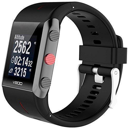 TUSITA Armband für Polar V800 - Ersatz Silikon Band Uhrenarmband Gummi Sportarmband - GPS Smart Watch Zubehör