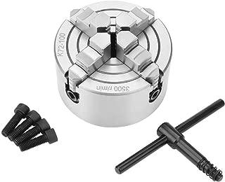 SANOU Lathe Chuck K72-100 4-Jaw Independent Reversible Metal Turning Machine Accessories
