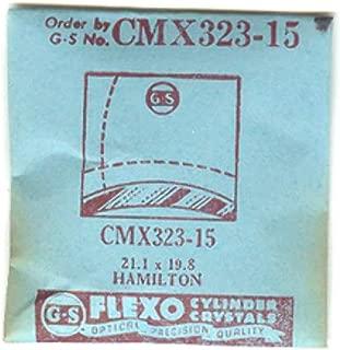 Hamilton 21.9X19.8 NOS Replacement Flexo Watch Crystal