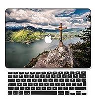 FULY-CASE プラスチックウルトラスリムライトハードシェルケース対応のある新しいMacBook Pro 13インチあり/なしタッチバー/タッチIDUSキーボードカバー A2338 M1/A2289/A2251 (スカイシリーズ 0595)