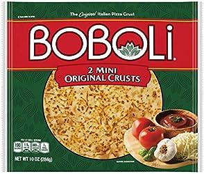Boboli 8 Inch Twin Pack Pizza Crust, Personalize Pizza Night, 2 crusts, 10 oz