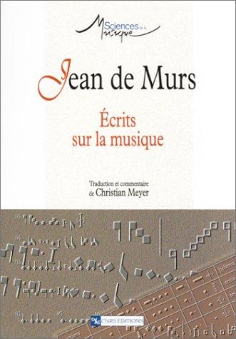 Jean de Murs : Écrits sur la musique
