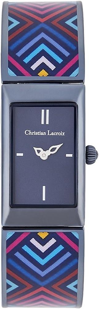 Christian lacroix orologio da donna in acciaio inossidabile CLWE50