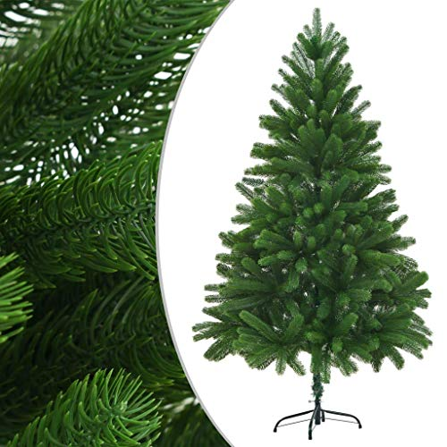 LDM Árbol de Navidad de imitación 210cm Agujas realistas Inyección Verde Decoración de Navidad