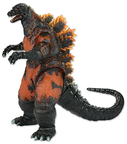 NECA Classic 1995 Burning Godzilla Head to Tail Action Figure, 12'