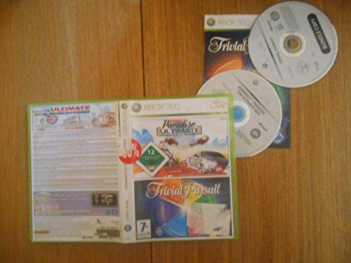 Burnout Paradise The Ultimate Box & Trivial Pursuit - Double Pack - Doble Pack [Xbox 360] [Producto Importado]
