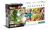 Clementoni - Puzzle Panorama-Dragon Ball-1000 Piezas, Multicolor, 39486