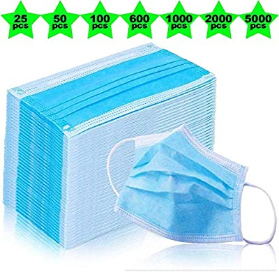 Kennedy Disposable Earloop Face Masks?Great for Virus Protection and Personal Health (100)