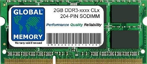 Memoria adicional 2GB PC3-12800 DDR3 1600MHZ Memoria para ordenador portatil PC SODIAL R