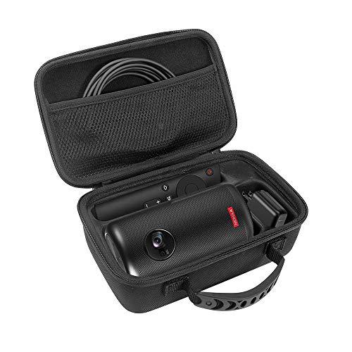 Carplink Eva-Hartschalenkoffer für Nebula Capsule/Nebula Capsule II Smarter Tragbarer Projektor mit Wi-Fi Pico Schutzhülle für Projektor und Zubehör Transporttasche