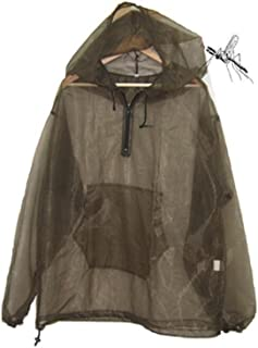 Aventik Mosquito Jacket Mesh, Super Light, One Size for All, Full Face Hood, Keep Safe Cool, UV Protection