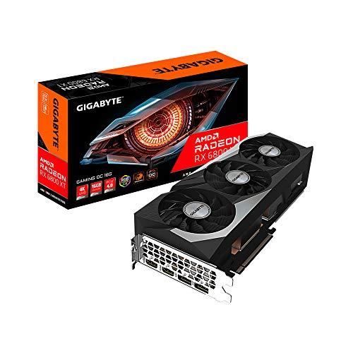Gigabyte Radeon RX 6800 XT Gaming OC - Tarjeta gráfica (16 GB)