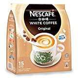 Nescafé Ipoh White Coffee ORIGINAL (15 Sachets) - 'Oh So Creamy' Premix Instant Coffee Deliciously Milky, Creamy and Aromatic Coffee with a Rich Layer of Foam Just Mix with Water, No Need of Sugar and Creamer Made from Quality Beans Imported from Nestlé Malaysia
