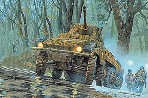 Roden Sd.Kfz 234/2 Military Armored Car Model Kit