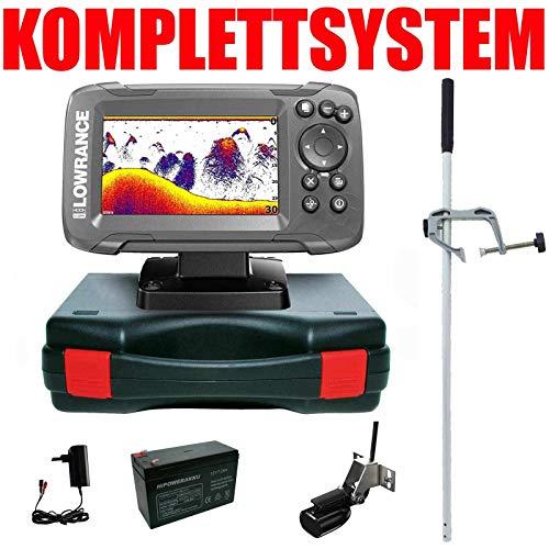 Lowrance Echolot GPS Portabel Master Edition Komplettsystem - Hook2 4X GPS