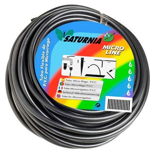 Saturnia 8170450 - PVC Drip tubicino, Rotolo 25m