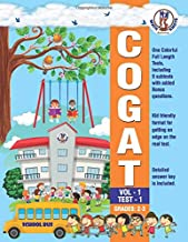 CogAT - Vol 1 -Test - 1: CogAT Form 7 Vol 1 -TEST - 1