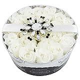 Gloss - caja de baño, caja de regalo para mujeres - Jabón pétalos de la flor - Bloomfield - algodón de las flores