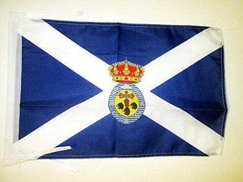 AZ FLAG Bandera de Santa Cruz DE Tenerife 45x30cm - BANDERIN