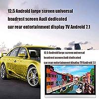 アウディ、BMW、メルセデス・ベンツや他のモデルのための適切な12.5インチの2枚の大画面ユニバーサルヘッドレスト画面アウディ専用車リアエンタテイメントディスプレイテレビのAndroid 7.1