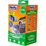 Hefty Shrink-Pak Vacuum Seal Bags, 4 X-Large Cubes