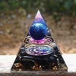 🌵天然石:天然石で構成されたピラミッド、このピラミッドは自然の美しさを完全に示しています 🌵治療効果:このピラミッドは見た目が美しいだけでなく、瞑想を助け、安らかな睡眠をサポートし、ストレスを和らげ、生活圏を浄化し、より多くのエネルギーを与え、感情のバランスを取り、精神的および心理的成長を助け、病気と戦うのを助けます病気を改善する 🌵クリスタルとオブシディアン:クリスタルオブシディアンの意味は、誰もが良い面と悪い面を持っていることを思い出させます。黒曜石は私たちから真実を隠しませんが、否定的な側...