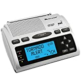 Midland - WR300, Deluxe NOAA Emergency Weather Alert Radio - S.A.M.E. Localized Programming, 60+ Emergency Alerts, & Alarm Clock w/ AM/FM Radio