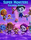 Super Monsters Coloring Book: Super mini monstres Activities Book for Kids