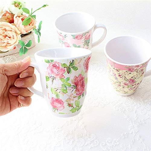『メラミンカップ薔薇』