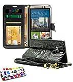 Muzzano F1584504 - Funda para HTC One M9, color negro