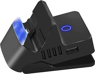 【最新HDMI出力・4K1080p対応】Switch OLED/Switchドック 充電スタンド 直接にTV出力 ミニドック (4段階角度調整/最新システム対応/TVモード/テーブルモード) 切り替え 放熱対策 任天堂スイッチ小型 Ninten...