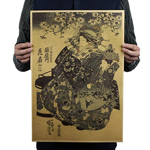 MEISISLEY Poster Groß Vintage Poster Dekoratives Poster Nostalgisches Poster Nicht klebrig Poster Ästhetischen Plakate Art.-Nr. Keine Rahmen