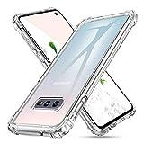 DUEDUE Samsung Galaxy S10e Hülle Silikon [Stoßdämpfend, Nicht vergilbend] Samsung S10e Handyhülle Hülle Handy Cover Schutzhülle für Samsung Galaxy S10e Transparent