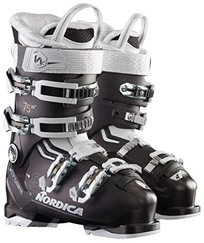 NORDICA Women Cruise 75 W Boots, Color: Black P./White/Bronze, Size: 27.5 (050652005R7-27.5)