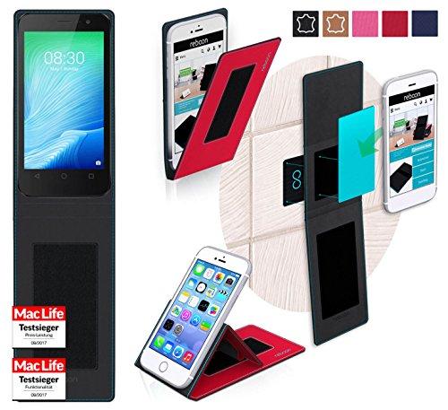 Hülle für TP Link Neffos Y50 Tasche Cover Case Bumper | Rot | Testsieger